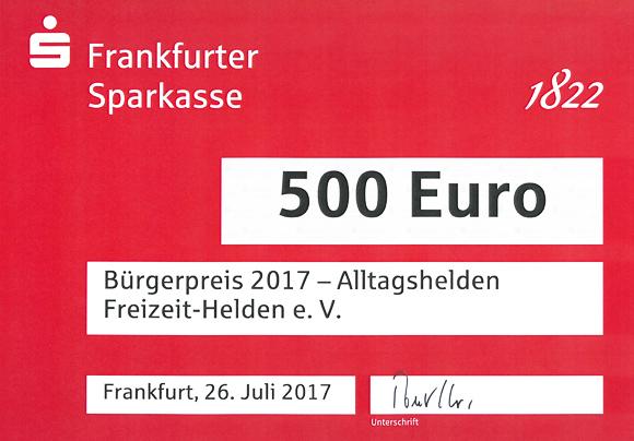 Bürgerpreis 2017 Freizeit-Helden Banner