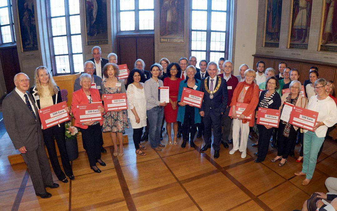 Bürgerpreis in Frankfurt gewonnen!