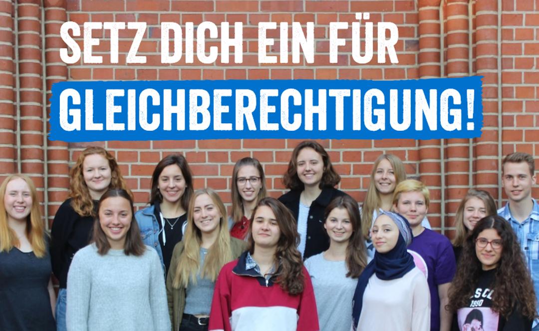 Junges Engagement für Gleichberechtigung und Jugendbeteiligung